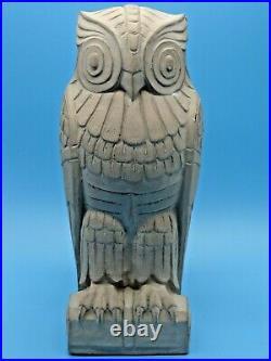 1930s Rare LEE LAWRIE Art Deco OWL Owls BOOKEND Library of Congress Art Deco