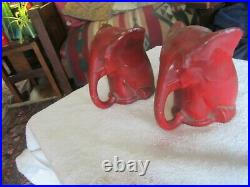 Antique Art Deco FRANKART/QUOIZEL Elephant Bookends, Buy It NowithGood Offer