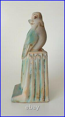 Bourne Denby Danesby Ware Donald Gilbert Lovebirds Bookend Art Deco 1930s