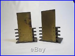 Chase Art Deco Octaball Book Ends
