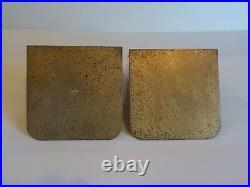 Tiffany Studios ABALONE Dore' Bronze Bookends #1173