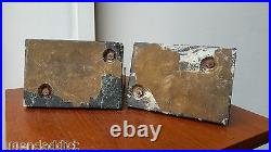 Very Rare Art Deco Bookends C. Charles Edit. Le Verrier Faun Satyre 1920